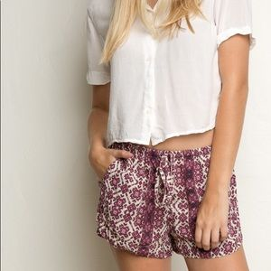 Brandy Melville Printed Eve Shorts